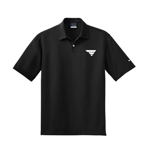 Fade to Black Fatlace Dri-fit Polo Shirt