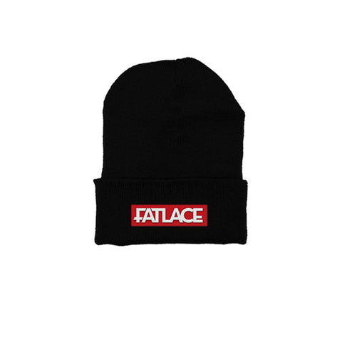 Fatlace Racing Collection Black Beanie