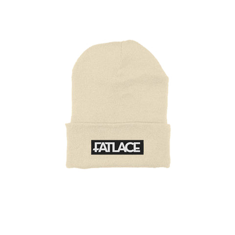 Fatlace Racing Collection Cream Beanie