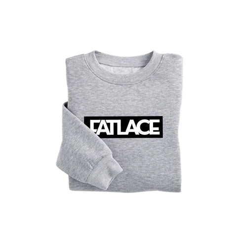Fatlace Racing Collection Heather Gray Sweatshirt