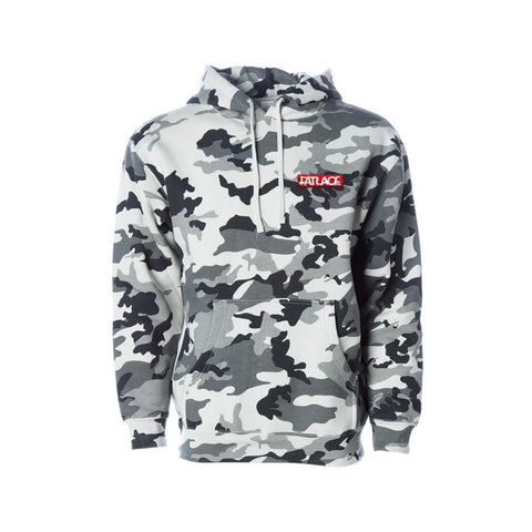 Fatlace Racing Collection White Camo Hoodie