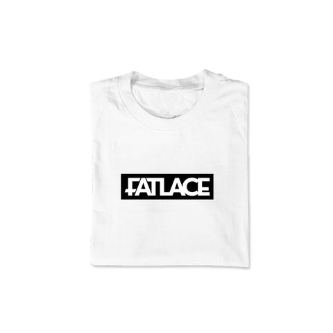 Fatlace Racing Collection White Tee