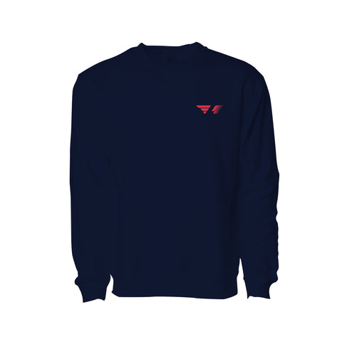 FL-RB16 Navy Blue Crewneck Sweatshirt