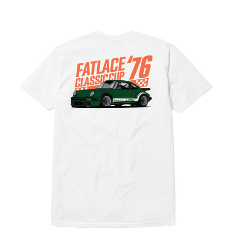 Fatlace Cup 76 White Tee
