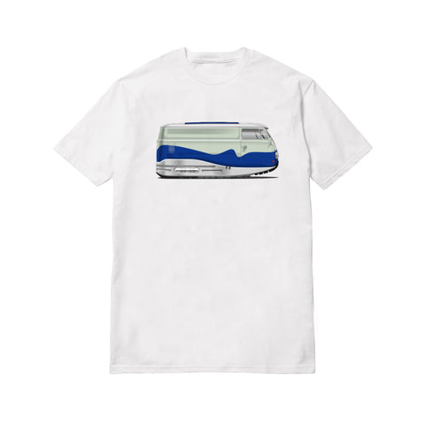 Fatlace SoleStance Air Max Bus White Tee