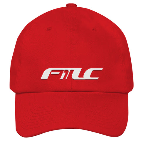 FTLC1 Dad Cap Red