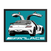 Framed Poster - Fatlace Wings