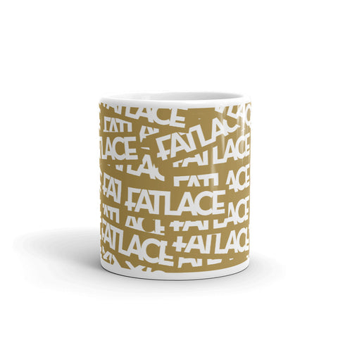 Fatlace Racing Mug - Gold