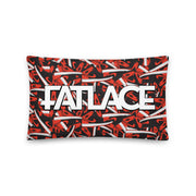 Pillow - Fatlace Red