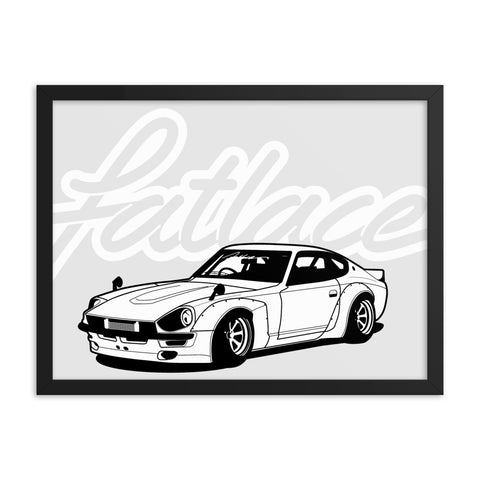 Framed Poster - Fairlady