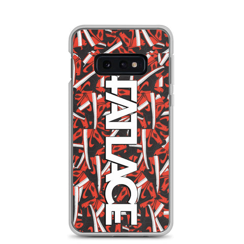 Samsung Case - Fatlace Red