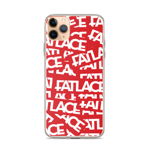 Fatlace Racing iPhone Case - Red