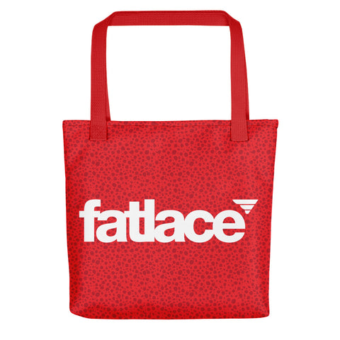 Tote bag - Fatlace Red