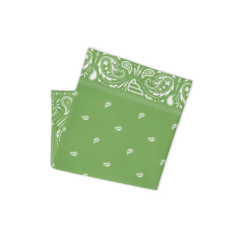 Neck Gaiter - Wings Bandana Green