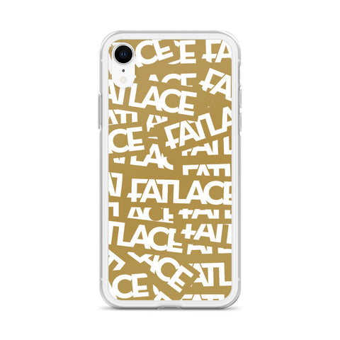 Fatlace Racing iPhone Case - Gold