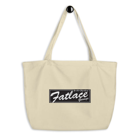 Eco Tote Bag Large - Fatlace Garage