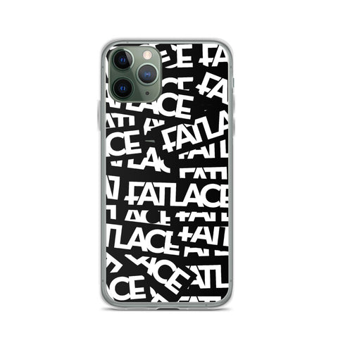 Fatlace Racing iPhone Case - Black