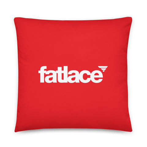 Pillow - Fatlace Red Bogo