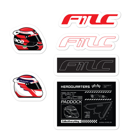 FTLC1 Midliners Stickers Red