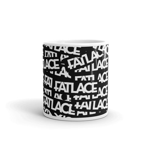 Fatlace Racing Mug - Black