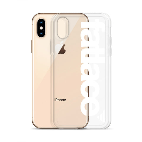 iPhone Case - Fatlace Bogo White