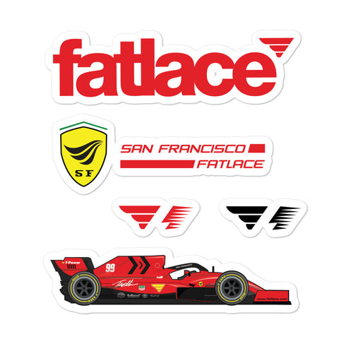 FL-SF1000 Sticker Pack Red