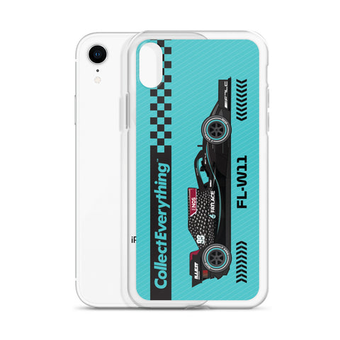 iPhone Case - FL-W11 Cyan Blue