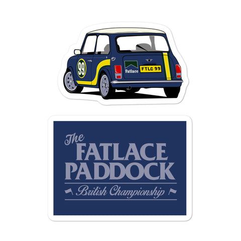Fatlace Championship Sticker Pack