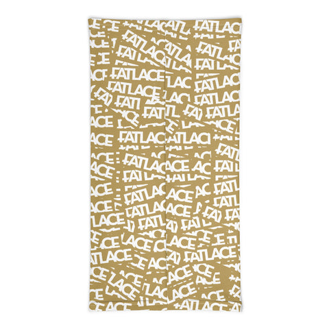 Fatlace Racing Neck Gaiter - Gold