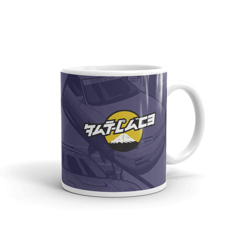 Legends of JDM Sunset Glossy Mug