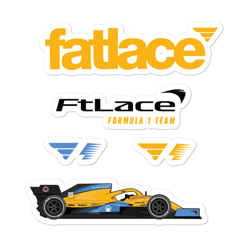 FL-MCL35 Sticker Pack Yellow