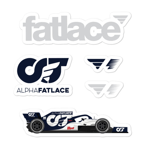 FL-AT01 Sticker Pack White