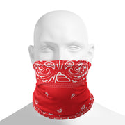 Neck Gaiter - Wings Bandana Red