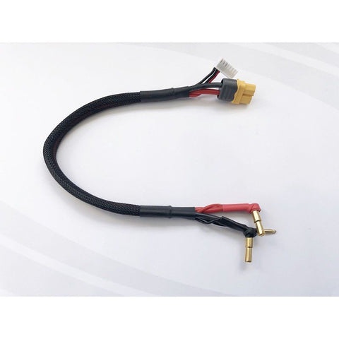 RC Pro 4-5mm Stepped Bullet XT60 Charge Lead 300mm 2S Balance 7pin XH Plug