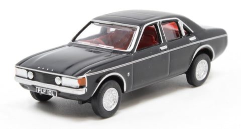 Oxford 1:76 Ford Consul Granada Black