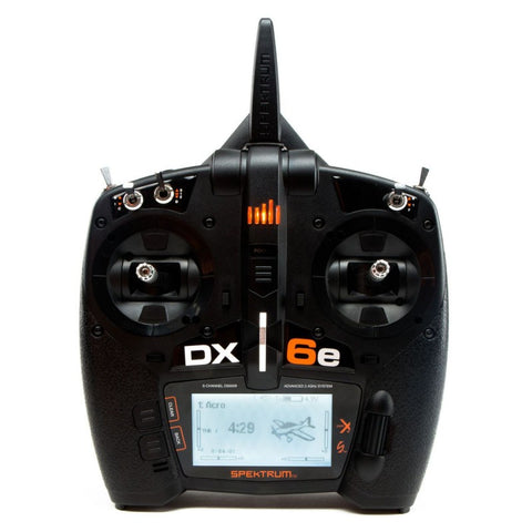 Spektrum DX6E Transmitter Only