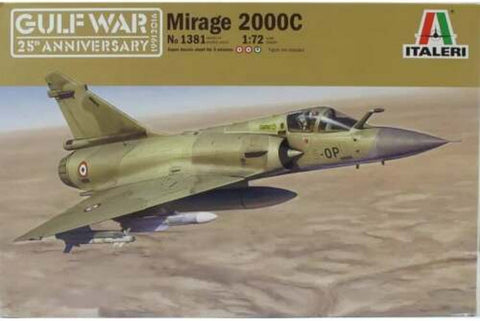 Italeri 1:72 Mirage 2000C Gulf War