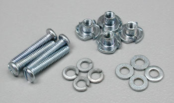 Dubro Mounting Bolts/Blind Nuts 2.56x1/2