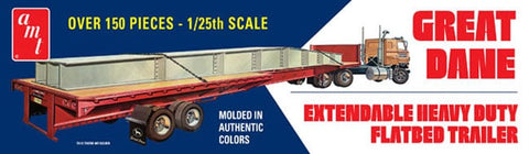 AMT 1:25 Great Dane Flatbed Trailer