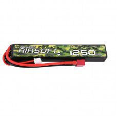 Gens Ace 1250mAh 11.1v Lipo for Airsoft