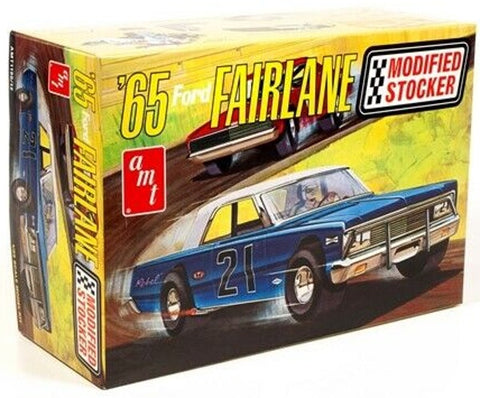 AMT 1:25 1965 Ford Fairlane Modified Stocker