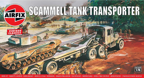Airfix 1:76 Scammell Tank Transporter Vintage Classic