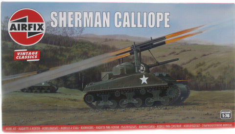 Airfix 1:76 Sherman Calliope Vintage Classic