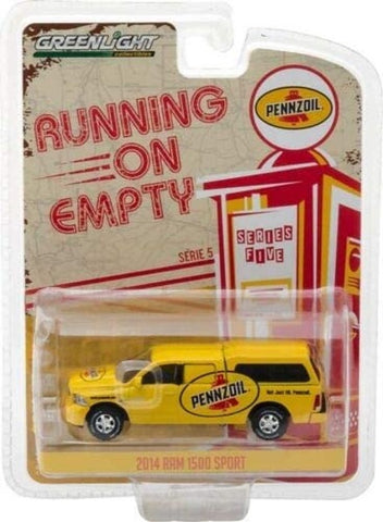 GL 1:64 2014 Ram 1500 with shell 'Pennzoil'