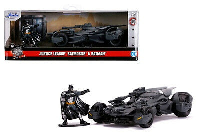 Jada 1:32 2017 Batmobile & Batman Figure Justice League