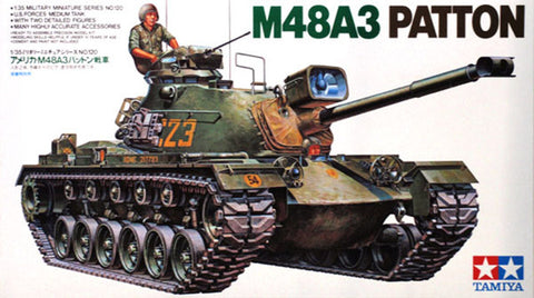 Tamiya 1/35 Patton Tank M-48A3