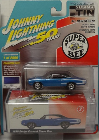JLCT 1:64 1970 DodgeSuper Bee Bright Blue