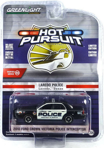 GL 1:64 2010 Ford Crown Vic Laredo Police