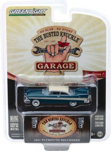GL 1:64 Busted Knuckles 57 Plymouth Belv