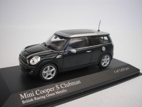 MC 1:43 MINI Cooper S Clubman Green